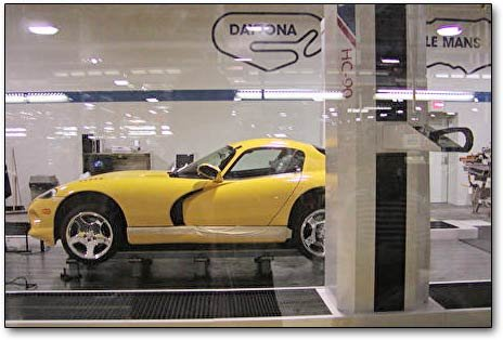 building dodge viper cars