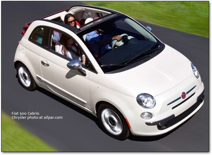 the fiat 500 the first fiat car to be made by chrysler. Black Bedroom Furniture Sets. Home Design Ideas