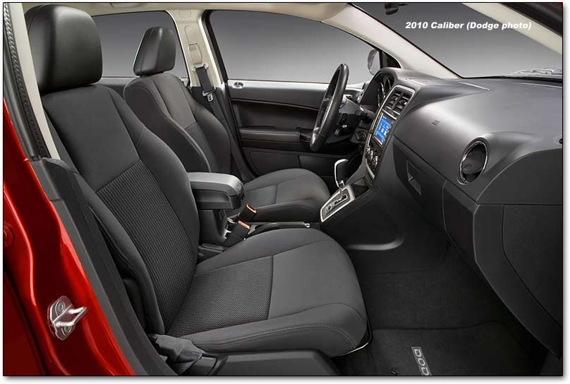 2010 Dodge Caliber interior