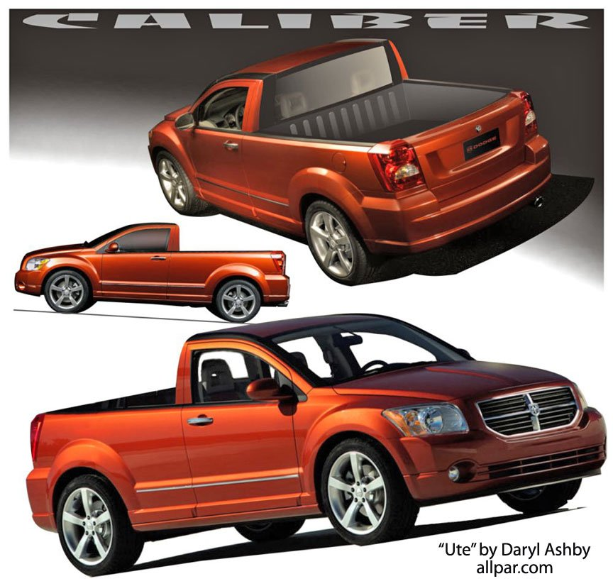 Dodge Caliber Ute - sport-utility vehicle / pickup truck
