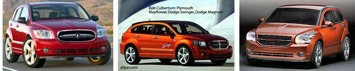 dodge caliber renditions