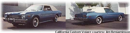 California Custom Volare