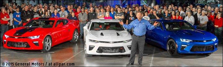 2016 Chevrolet Camaros