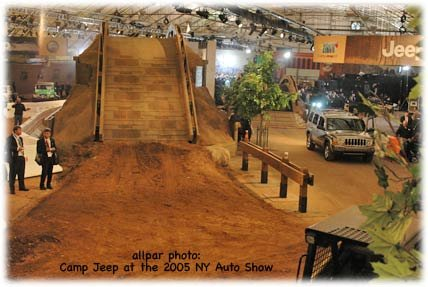 2005 New York Auto Show - Camp Jeep