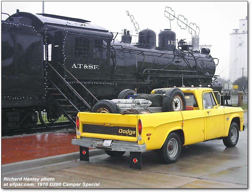 car of the month april 2010 1970 dodge d 200 camper special. Black Bedroom Furniture Sets. Home Design Ideas