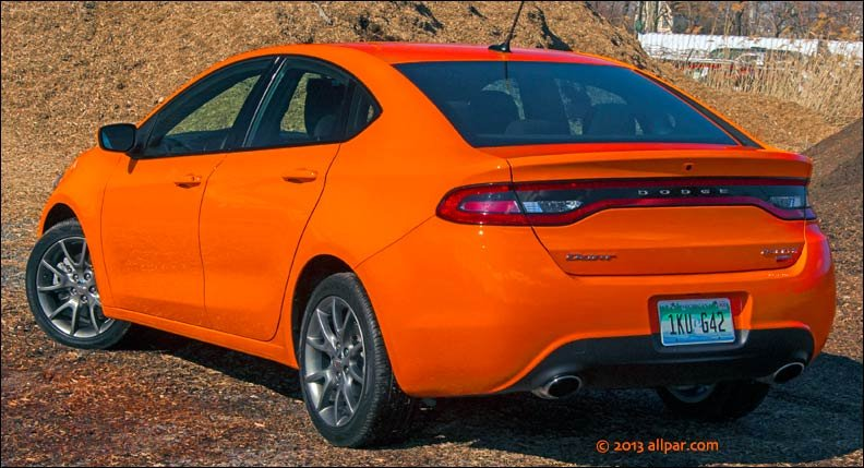 Test Drive: 2013 Dodge Dart compact car (turbo with DDCT