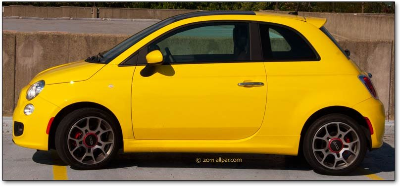 2012 Fiat 500 Sport Car Review