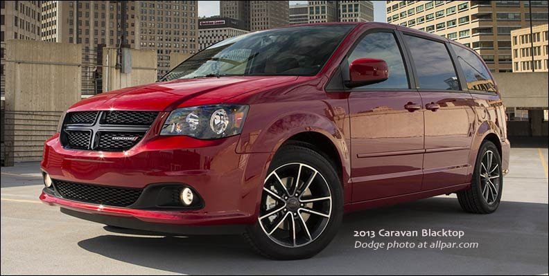 Chrysler minivans: 2011-17 Dodge Caravan and Town & Country