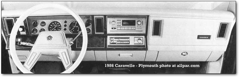 caravelle dashboard