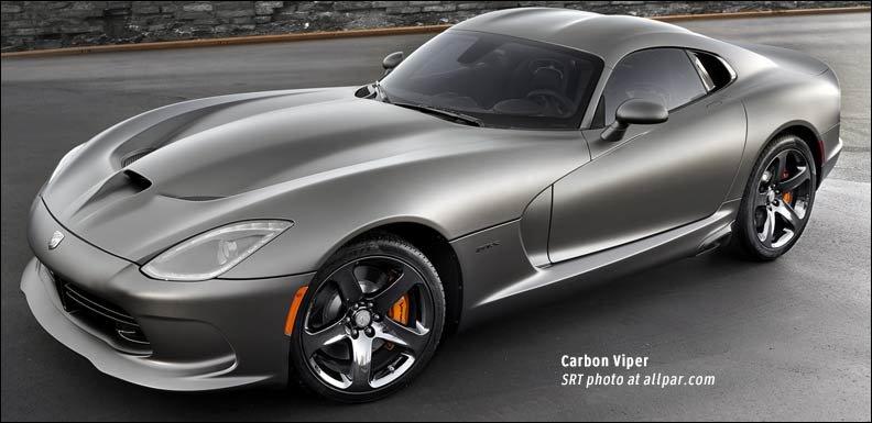2014 SRT Viper Carbon