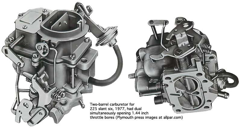 carburetors a durability legend with performance upgrades mopar slant six engines  at n-0.co