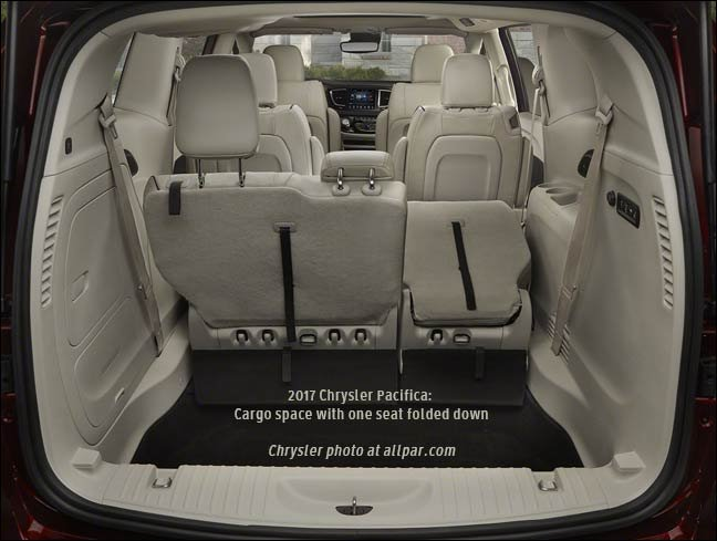 inside the 2017 chrysler pacifica minivans cabin. Black Bedroom Furniture Sets. Home Design Ideas