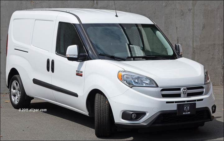 cargo van ram promaster city a week with the small commercial van Dodge Ram 3500 Wiring Diagram at nearapp.co