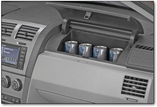 glove compartment cooler