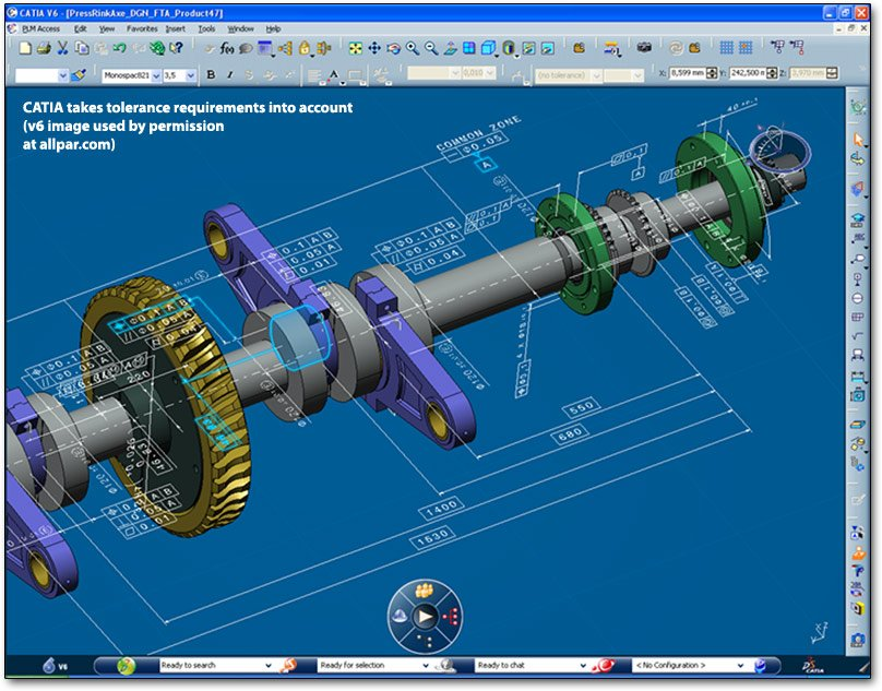 CATIA v6 image for mechanical engineering