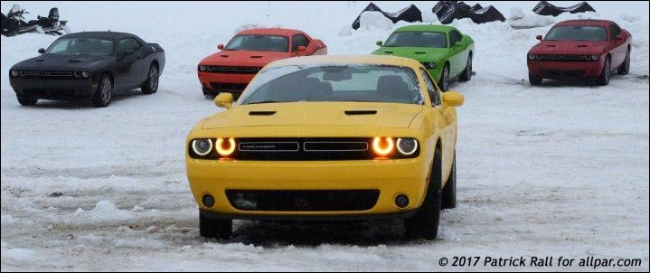 testing a 2017 dodge challenger gt awd in the snow with video. Black Bedroom Furniture Sets. Home Design Ideas