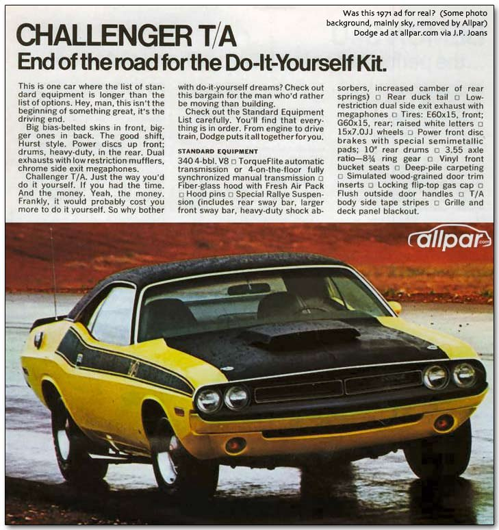 Dodge Challenger The Hot Muscle Cars