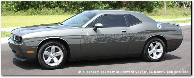 Dodge Challenger squad car