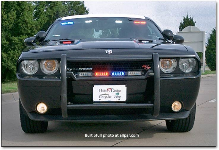 Challenger police car
