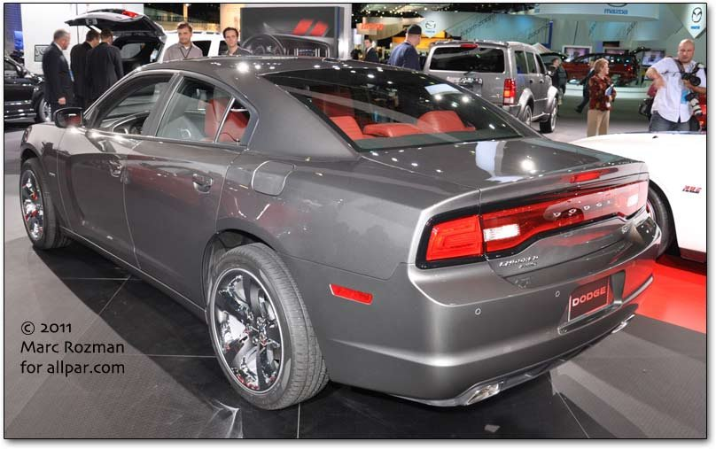 Charger rear