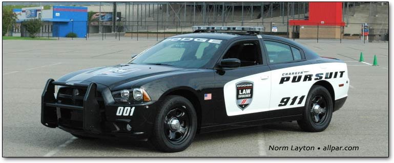 COPSWEST 2011: testing the 2012 Dodge Charger