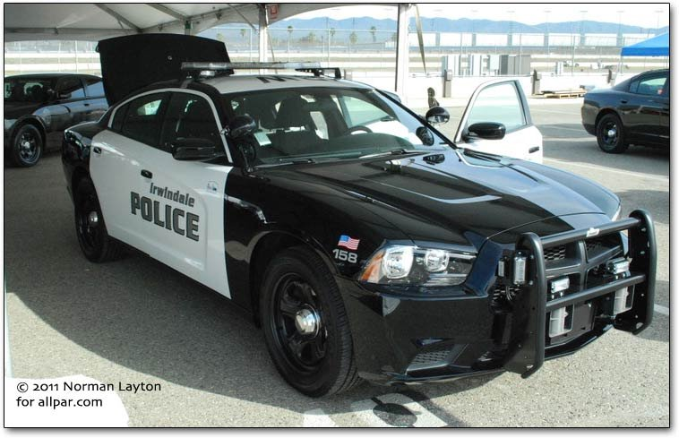 2012 Dodge Charger squad car