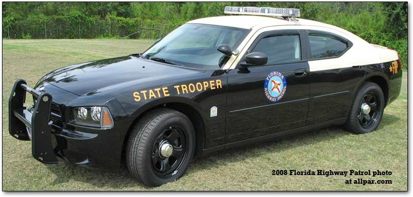 Charger squad in Michigan State Police tests