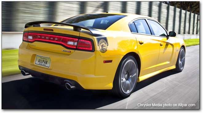 2012 Dodge Charger SRT8 Super Bee