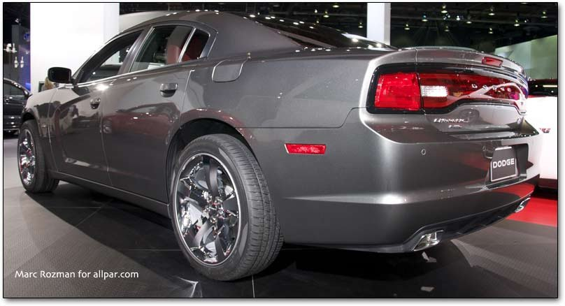 Charger tail