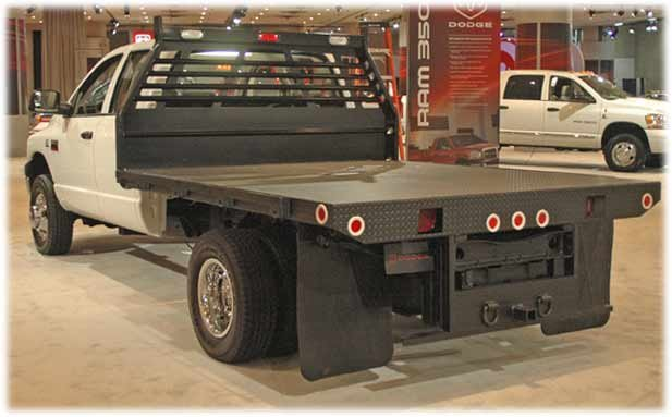 dodge ram chassis cab - rear