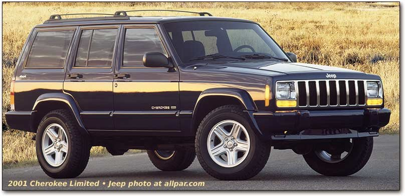 Jeep Cherokee description and information