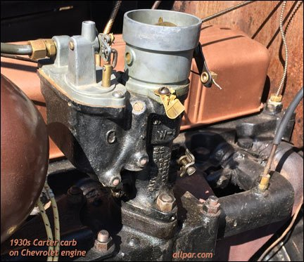 Friends of Chrysler: Carter Carburetor