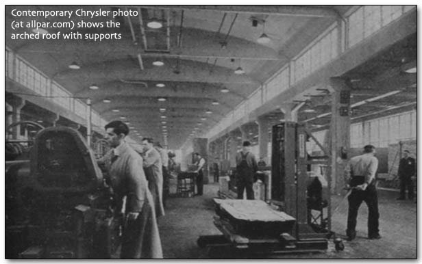 inside the Chrysler - Dodge Chicago plant