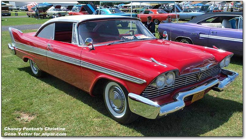 Christine The Most Famous Plymouth Fury