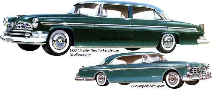 Chrysler and Imperial 1955
