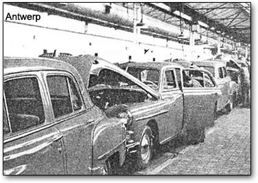 Chrysler Antwerp assembly plant