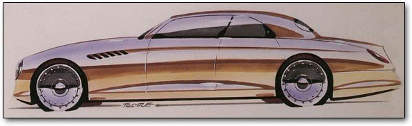drawing of chrysler phaeton concept cars