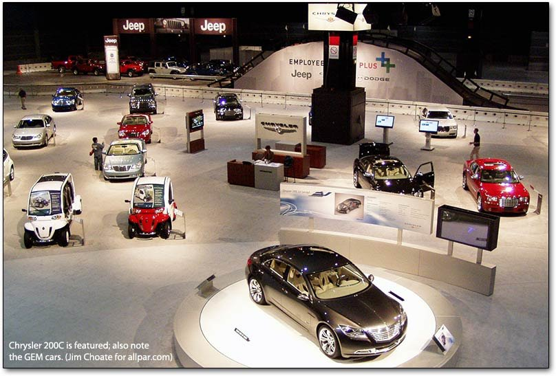chrysler at the chicago auto show