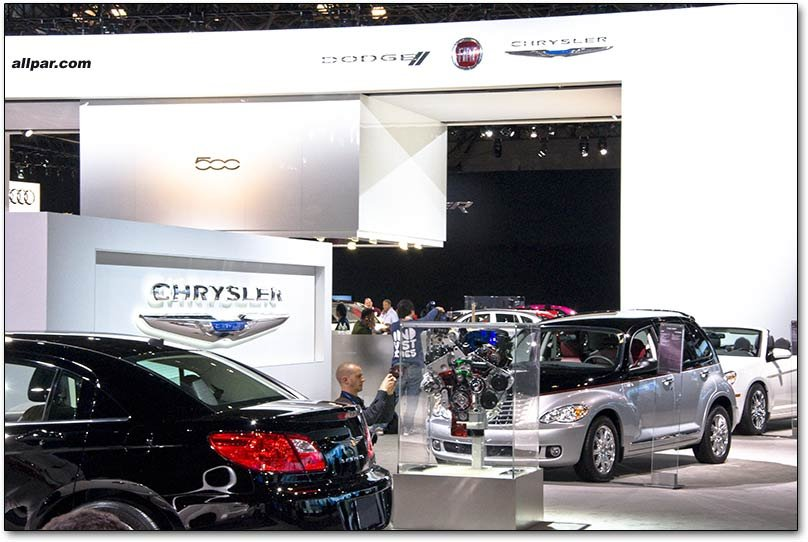 Chrysler display