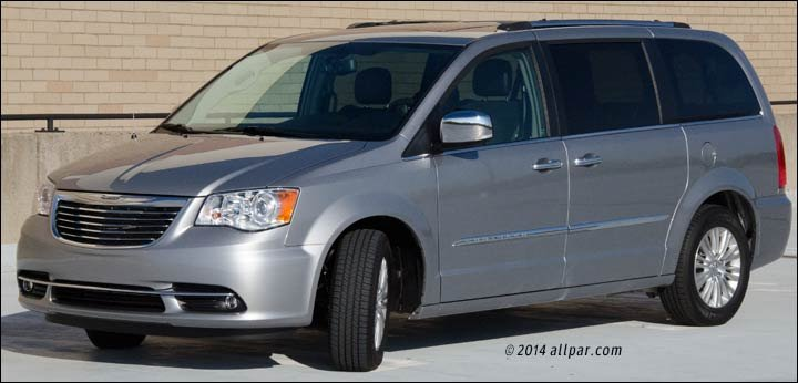 2014-2015 chrysler minivan