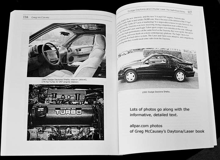 chrysler laser book