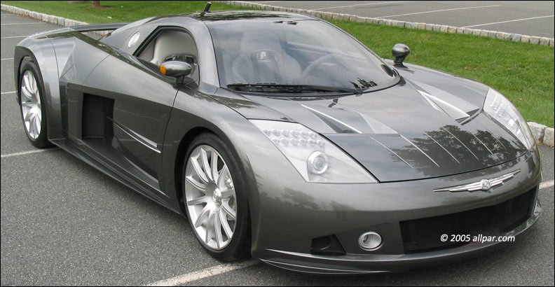 Chrysler ME-412 supercar photo by allpar