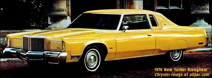 1076 Chrysler New Yroker Brougham