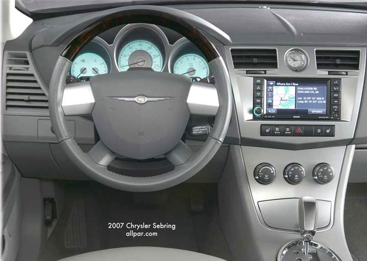 instrument panel - chrysler cars