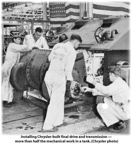 chrysler transmission in tanks