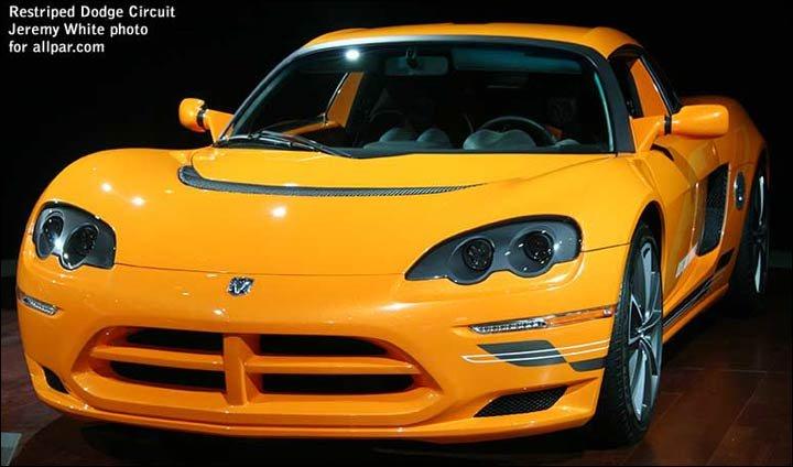 2009 Dodge Circuit Ev. 2009 Dodge Circuit EV concept