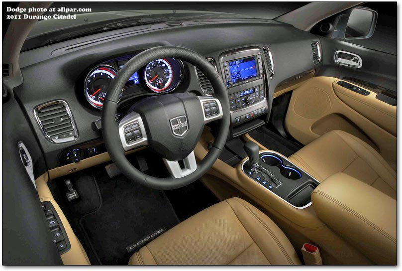 2013 dodge durango interior