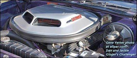 Return of the Shaker Hood Challenger RT Shaker and Mopar 14