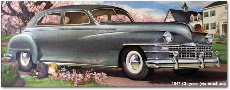 Chrysler Corporation Postwar Models 1946 1948 Plymouth