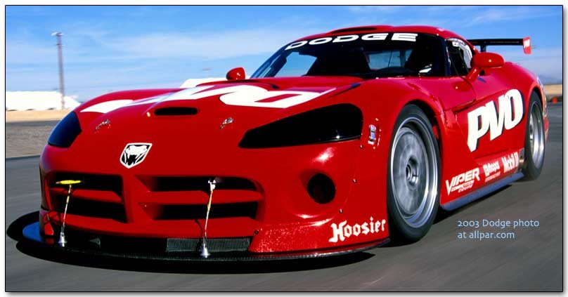 2003 Dodge Viper Competition Coupe: Racing Only